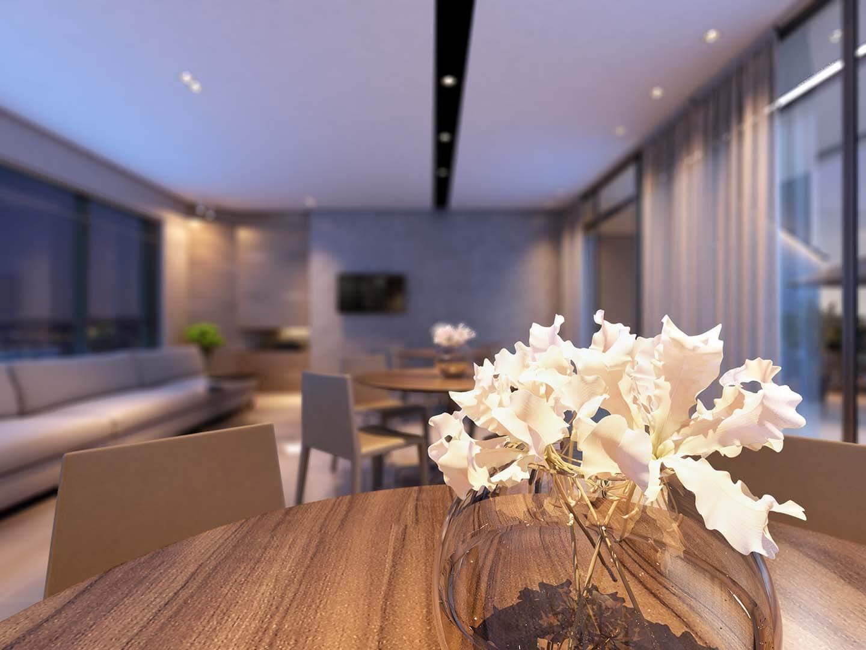 Lounge Gourmet Detalhe