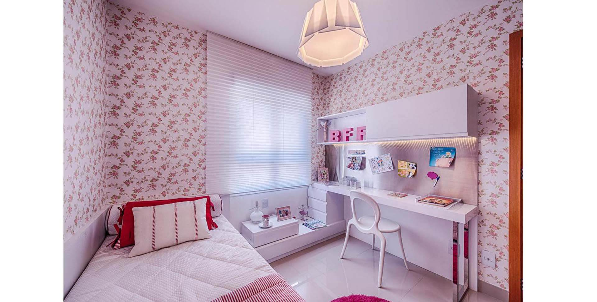 Apartamento decorado - Quarto