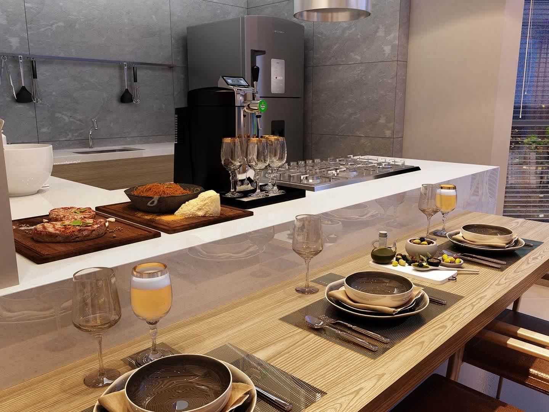 Detalhe Cozinha Gourmet