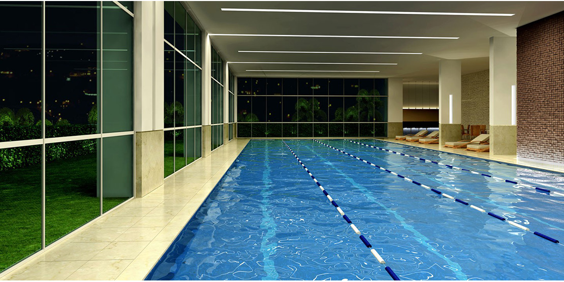 Piscina térmica indoor